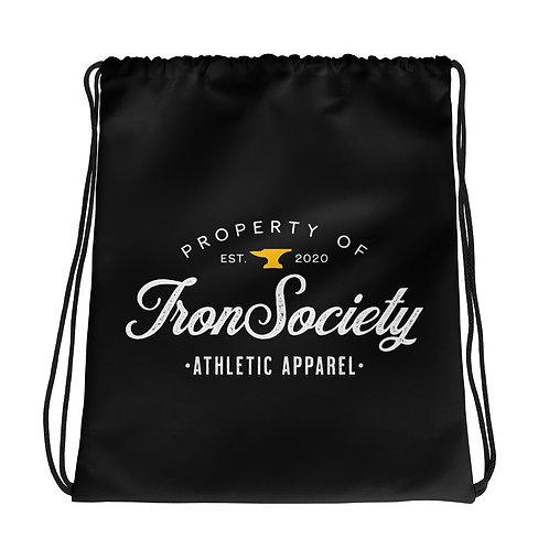 Vintage Iron Society Athletics Drawstring bag