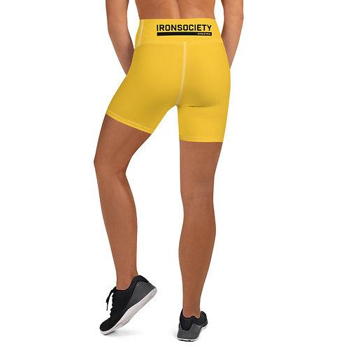 ISA Gold Yoga Shorts