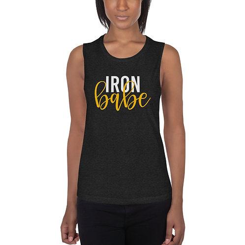 Iron Babe Printed Ladies' Muscle Tank