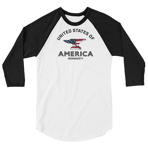 United States Anvil 3/4 Sleeve Shirt
