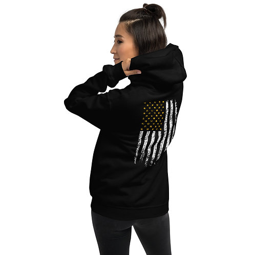Iron Society Athletics Flag Unisex Hoodie