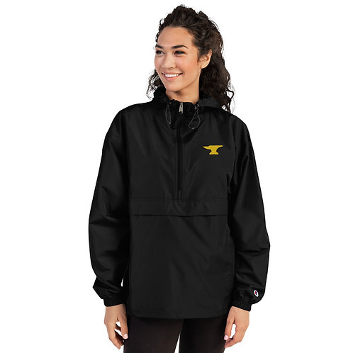 Anvil Embroidered Champion Packable Unisex Jacket