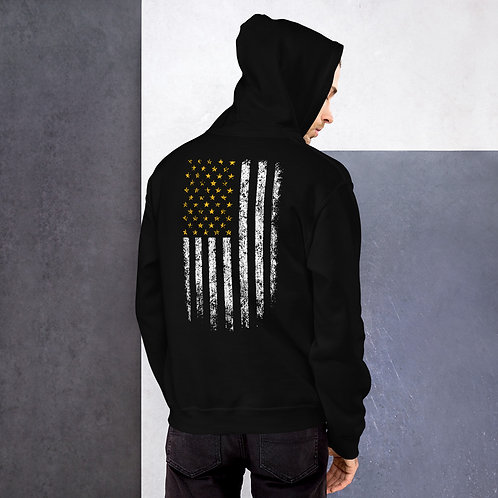 Iron Society Athletics Flag Hoodie