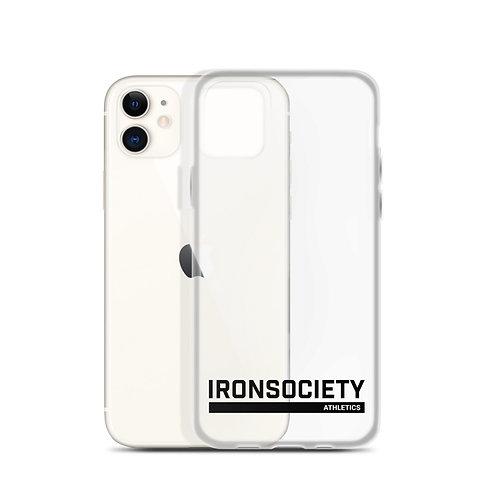 Iron Society Athletics Clear iPhone Case