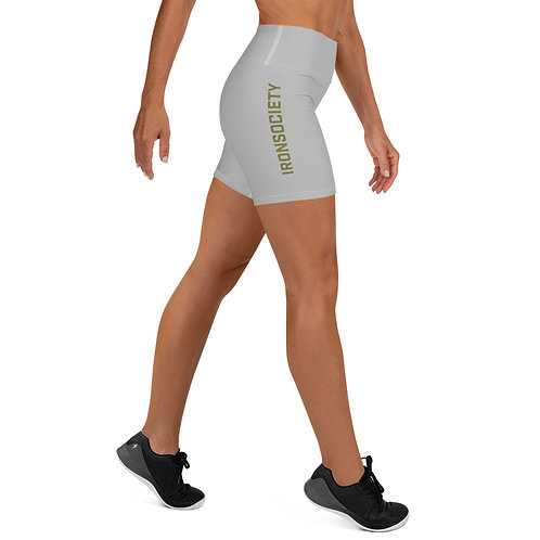 Iron Society Yoga Shorts