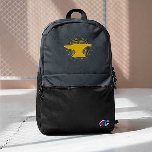 Anvil Embroidered Champion Backpack