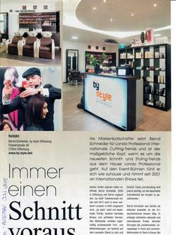 Pressebericht Friseurfachzeitschrift DFM