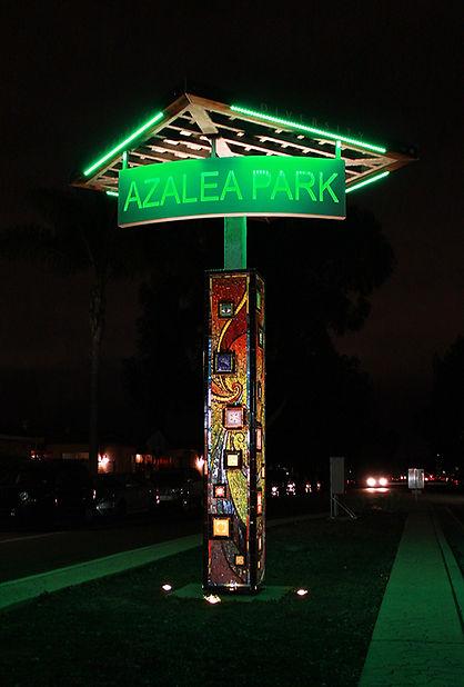 2 Azalea Park sign night.jpg