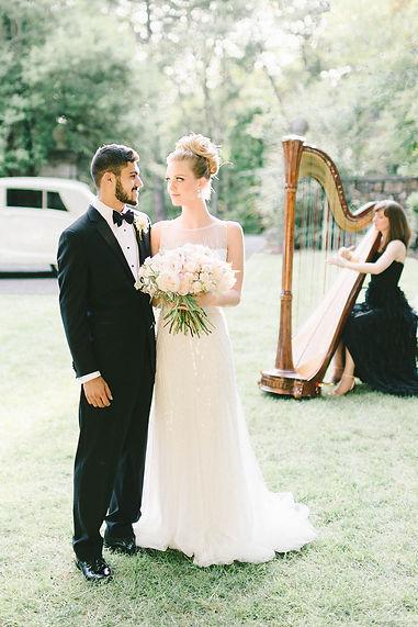 Harpist for Weddings DC Northern VA
