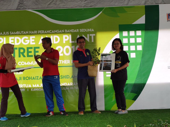 Pledge and Plant A Tree (PAPAT) 2019