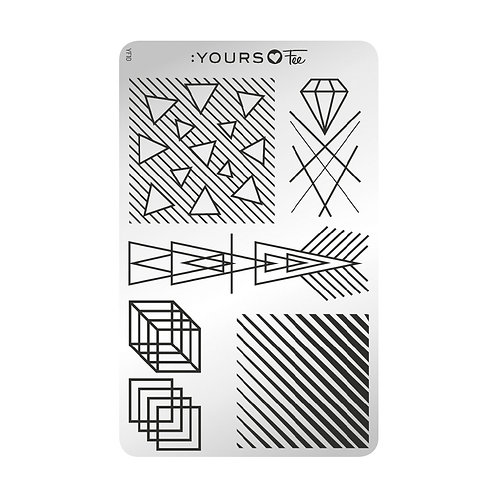:YOURS PLATE YLF10 - Deco Dream LOVES FEE