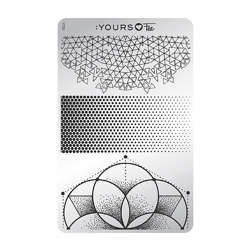 :YOURS PLATE YLF09 - Angular Fade LOVES FEE
