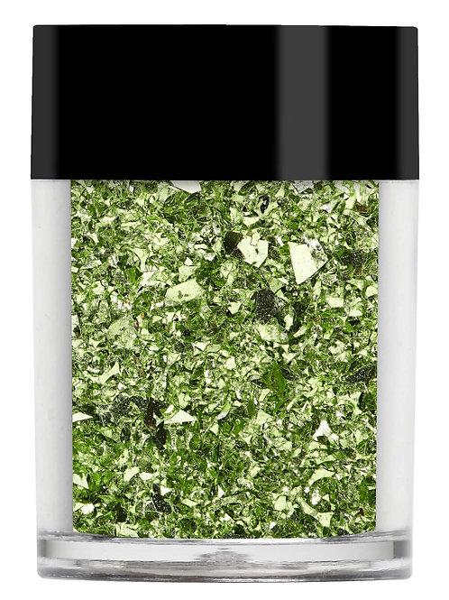 Green Irregular Glitter