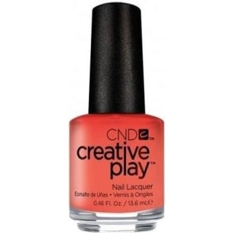 CND Creative Play Nail Lacquer - Peach Of Mind [414] 13.6ml