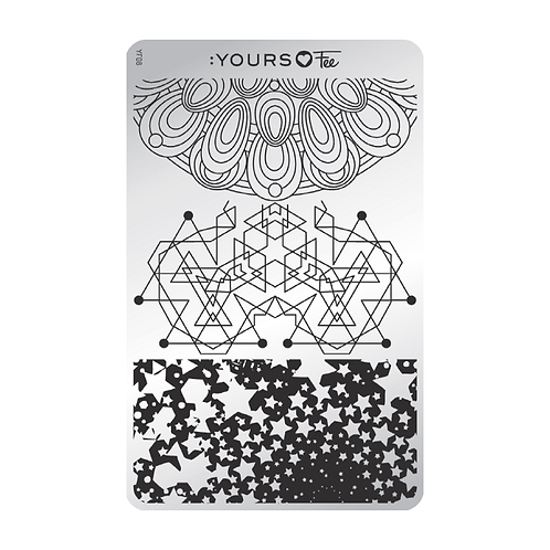 :YOURS PLATE YLF08 - Sacred Shapes LOVES FEE
