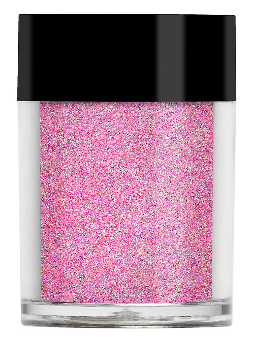 Tickle Me Pink Iridescent Glitter