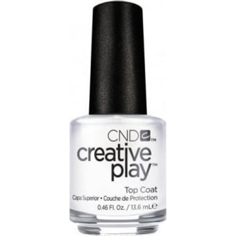 CND Creative Play Nail Lacquer Nail Treatment - Top Coat 13.6ml