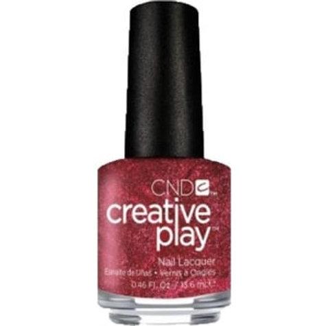 CND Creative Play Nail Lacquer - Crimson Like It Hot (415) 13.6ml