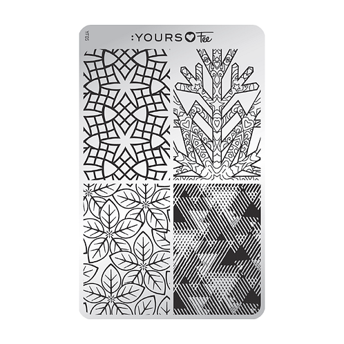 :YOURS PLATE YLF05 - Hipster Giftwrap LOVES FEE