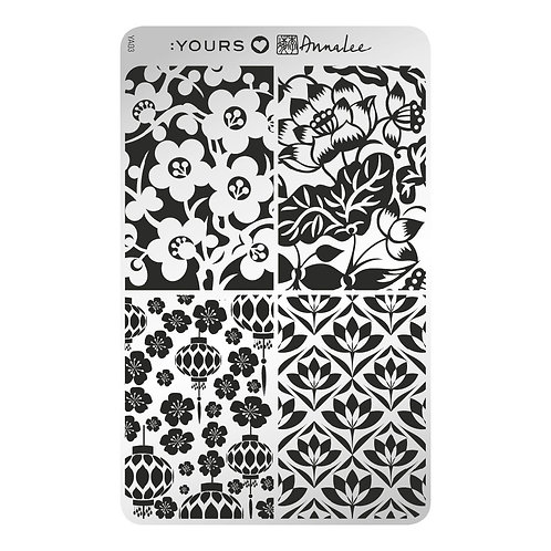 :YOURS PLATE YLA03 - Orient Blossoms LOVES ANNALEE