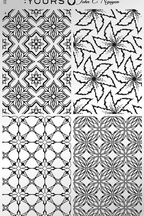 :YOURS PLATE YLJ01 - Kaleidoscope LOVES JOHN C. NGUYEN