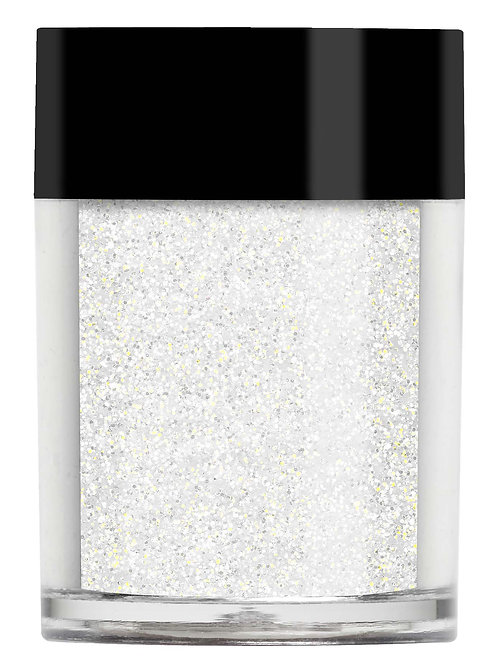 Golden White Iridescent Glitter