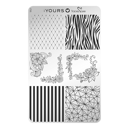 :YOURS PLATE YLT05 - Design Medley LOVES TRACEY LEE