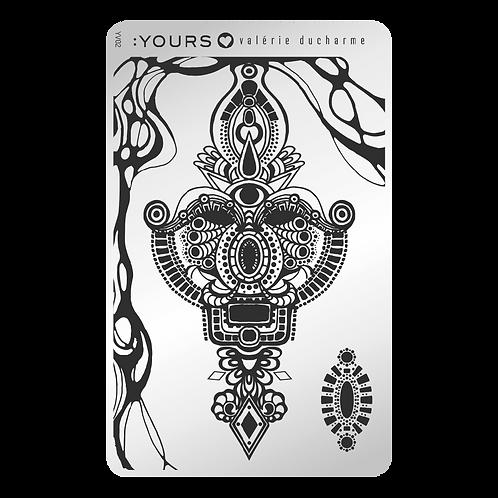 :YOURS PLATE YLV02 - Spiritual Mystery LOVES VALERIE DUCHARME