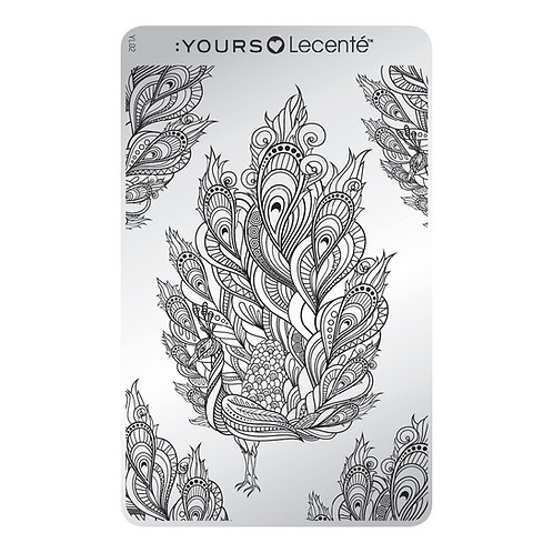 :YOURS PLATE YLL02 - Feathertastic LOVES LECENTE
