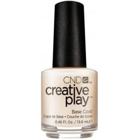 CND Creative Play Nail Lacquer Nail Treatment - Base Coat 13.6ml