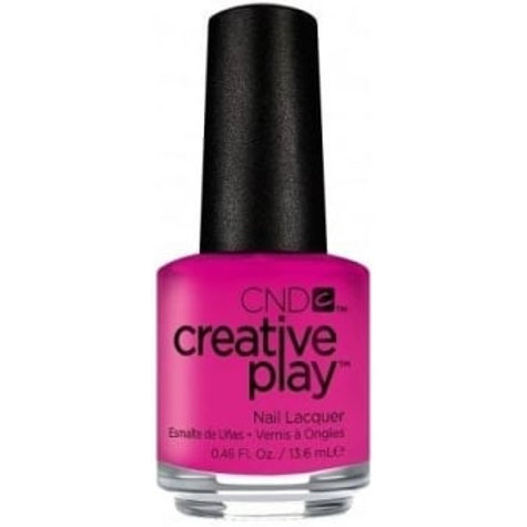 CND Creative Play Nail Lacquer - Berry Shocking [409] 13.6ml.