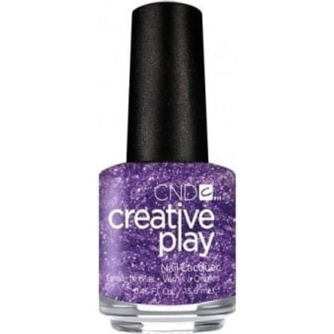 CND Creative Play Nail Lacquer - Miss Purplelarity [455] 13.6ml.