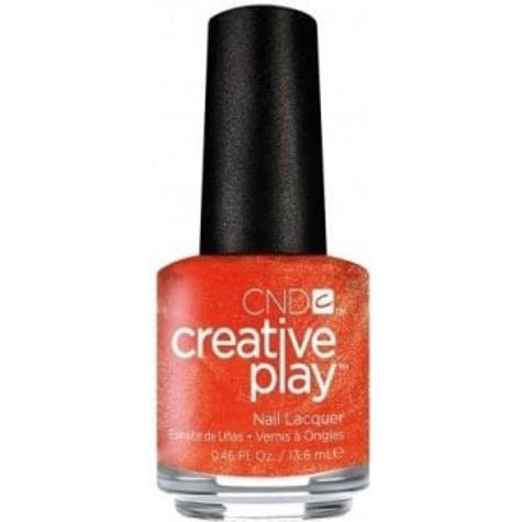 CND Creative Play Nail Lacquer - Orange You Curious [421] 13.6ml