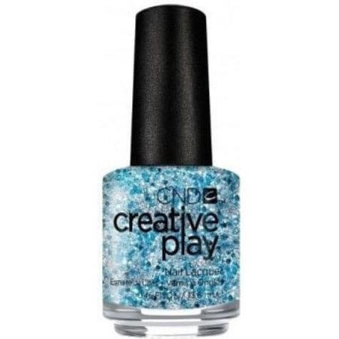 CND Creative Play Nail Lacquer - Kiss Teal [459] 13.6ml