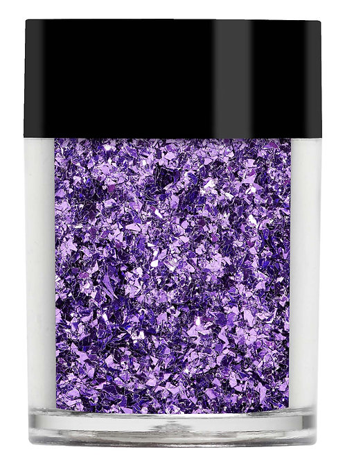 Purple Irregular Glitter