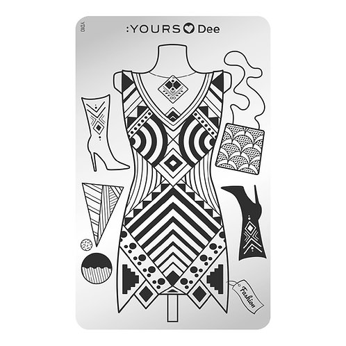 :YOURS PLATE YLD10 - Dress to Impress LOVES DEE