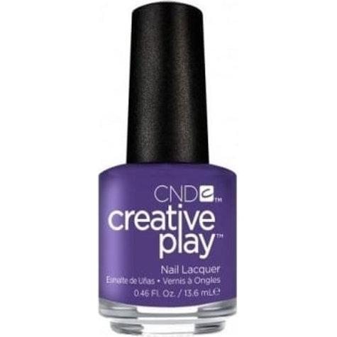 CND Creative Play Nail Lacquer - Isn't She Grape [456] 13.6ml