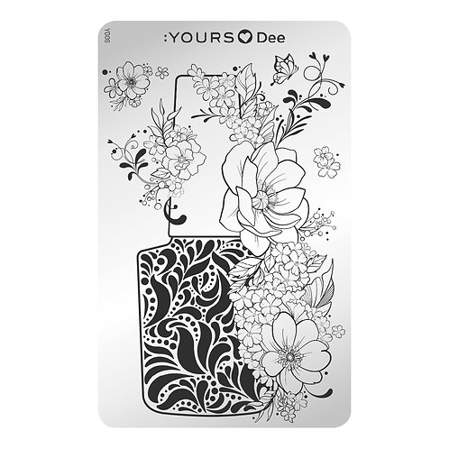 :YOURS PLATE YLD09 - Polish Perfect LOVES DEE