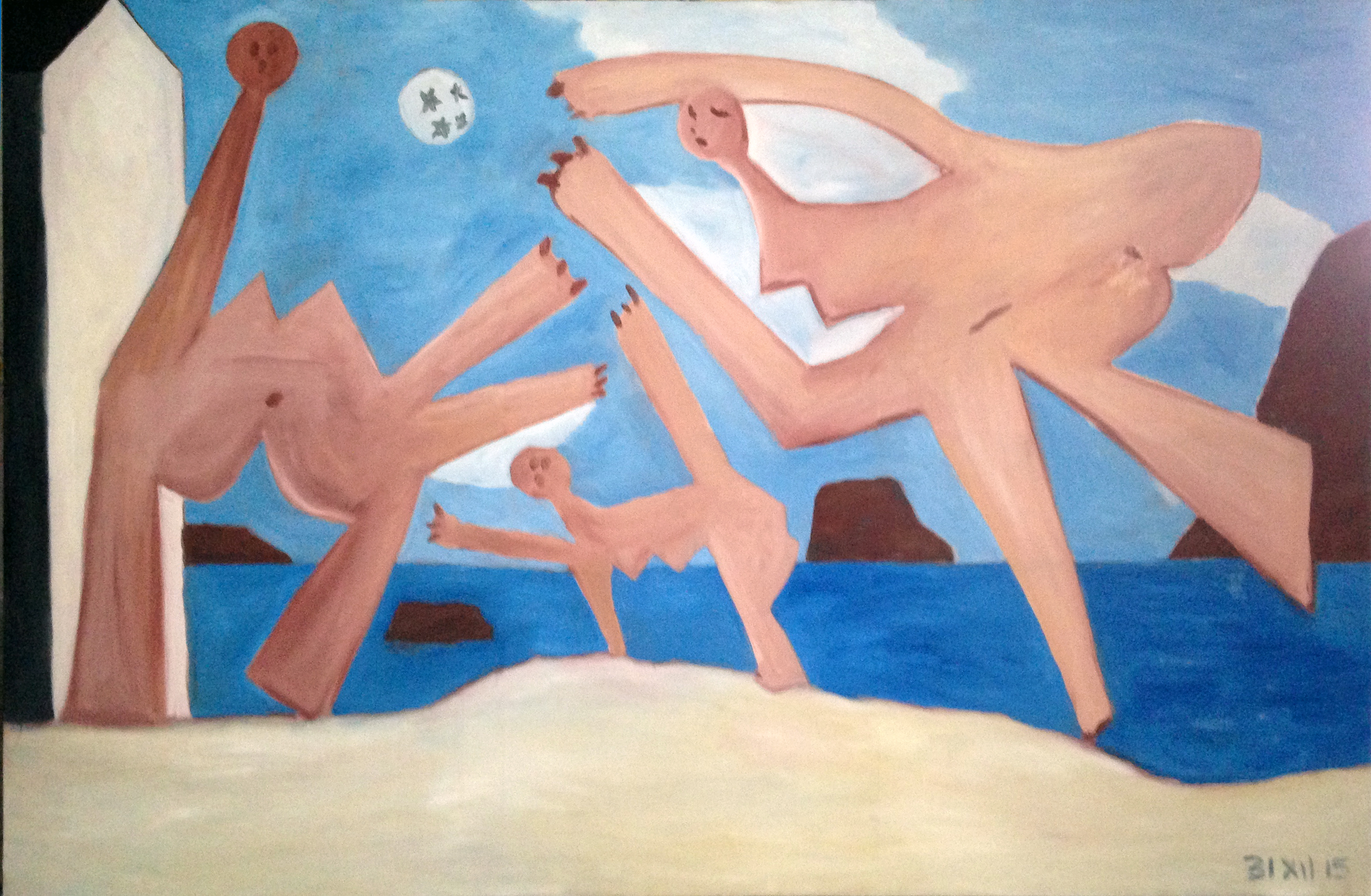 Picasso Femmes jouant au ballon