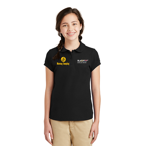 Port Authority Girls Silk Touch Peter Pan Collar Polo - YG503