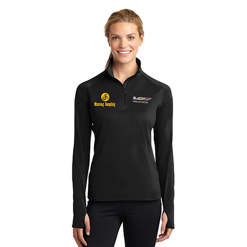 Sport-Tek Ladies Sport-Wick Stretch 1/2-Zip Pullover - LST850