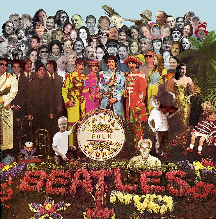 Beatles Concert Flyer