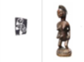 Arts anciens d'Afrique et d'Océanie. Gravures d'André Breton © Nicolas Rolland, avril 2018