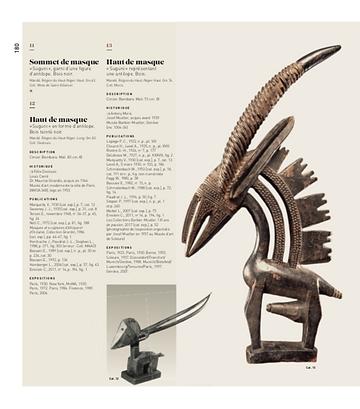 Galerie Pigalle: Afrique, Océanie. 1930. Une exposition mythique. p. 180