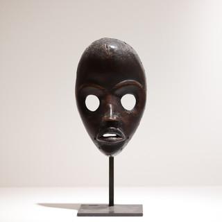 Masque de course Dan Côte d'Ivoire H: 23 cm Bois VENDU / SOLD