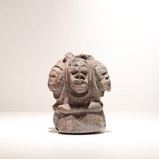 Statuette Pomdo Guinée Provenant d'une collection de 10 statuettes collectées sur place vers 1904 H: 16 cm Pierre (stéatite) VENDU / SOLD