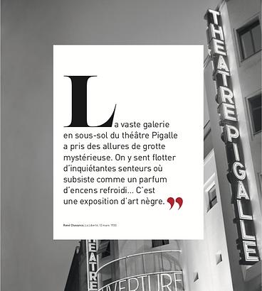 Galerie Pigalle: Afrique, Océanie. 1930. Une exposition mythique. p. 13