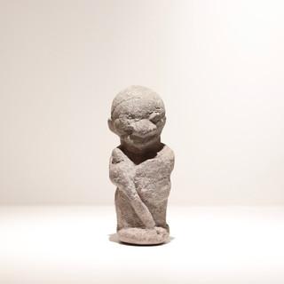 Statuette Pomdo Guinée Provenant d'une collection de 10 statuettes collectées sur place vers 1904 H: 17,5 cm Pierre (stéatite) Plus d'informations sur demande / More information on request