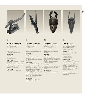 Galerie Pigalle: Afrique, Océanie. 1930. Une exposition mythique. p. 181