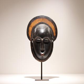 Masque Yaouré Côte d'Ivoire H: 30 cm Bois Plus d'informations sur demande / More information on request